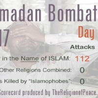 "Ramadan death toll to date: ""Murdering infidels thus doesn't contradict the spirit of Ramadan; it embodies it."""