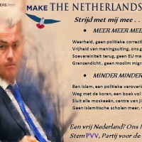 PVV stickers buitenkwaliteit, plak ze overal -OVERAL-
