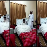 80-year-old Arab Muslim deflowering his 12-year-old bride