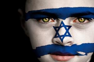 face-israel-flag