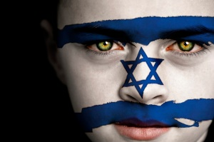 face-israel-flag