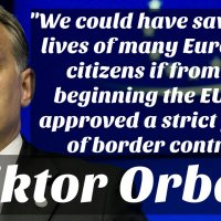Hungary's PM: Mixing cultures will not lead to a higher quality of life but to a lower one