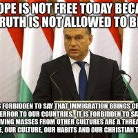 'Never underestimate the power of the dark side': Orban goes Star Wars on EU 'migrant invasion'