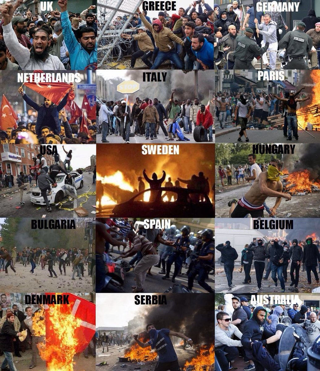 """Muslim Immigration and the Future of Europe: Where's the Democracy? –  Zeepertje.com – Facts Fun & News on ISLAM, """"The religion of peace"""""""