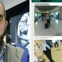 EXCLUSIVE: 'I swear to Allah, no bra': Sydney sheikh 'took sneaky images' of women at airport and uploaded them to his followers on WhatsApp with lewd and mocking comments