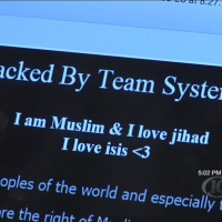 Pro-ISIS, Anti-Trump government hacks various websites