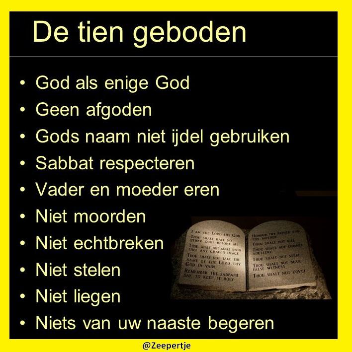 zeer 10 geboden bijbel #yks15 - agneswamu