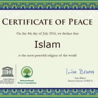 UNESCO declares Islam as the most peaceful religion of the world