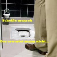 """Aufregung um """"kultursensible Toiletten"""" in Bürgerzentrum, scheiße"""