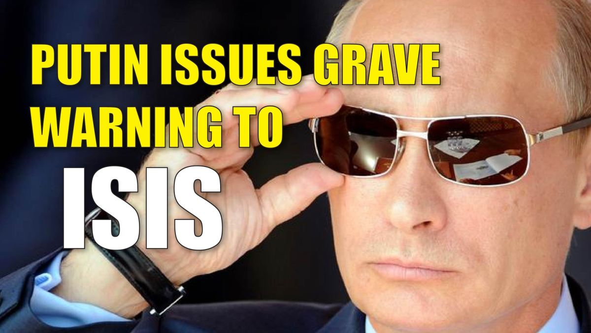 Vladimir Putin: If ISIS commit terrorist attack in Russia, in half an hour Saudi Arabia is destroyed