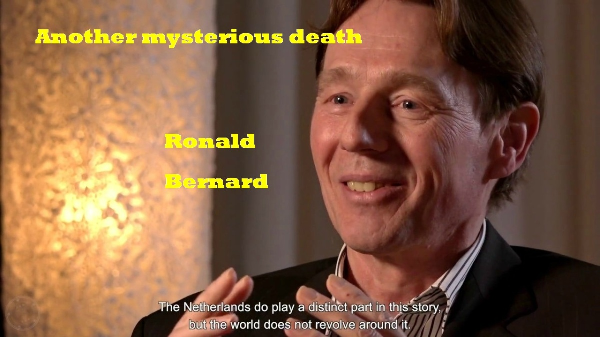 Ex-Illuminati Banker Who Exposed Elite Pedophile Ring, Found Dead, Dutch banker Ronald Bernard's body recovered in Florida