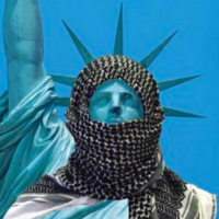 Dem Congressman's Statue of Liberty hijab painting is insult to the West!