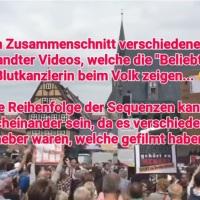 Kaum ein Wahlkampfauftritt von Merkel, bei dem sie nicht ausgepfiffen wird …