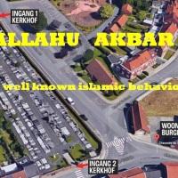 Burgemeester Waalse gemeente Moeskroen de keel doorgesneden, Dood gevonden op kerkhof bij eigen huis