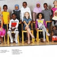 Zweedse klassenfoto zorgt voor paniek in Noorwegen