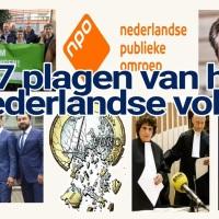 Cartoon; 7 Plagen van het Nederlandse volk