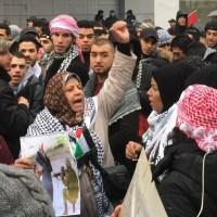 """Allahu Akbar""- und ""Kindermörder Israel!""-Rufe mitten in Berlin"